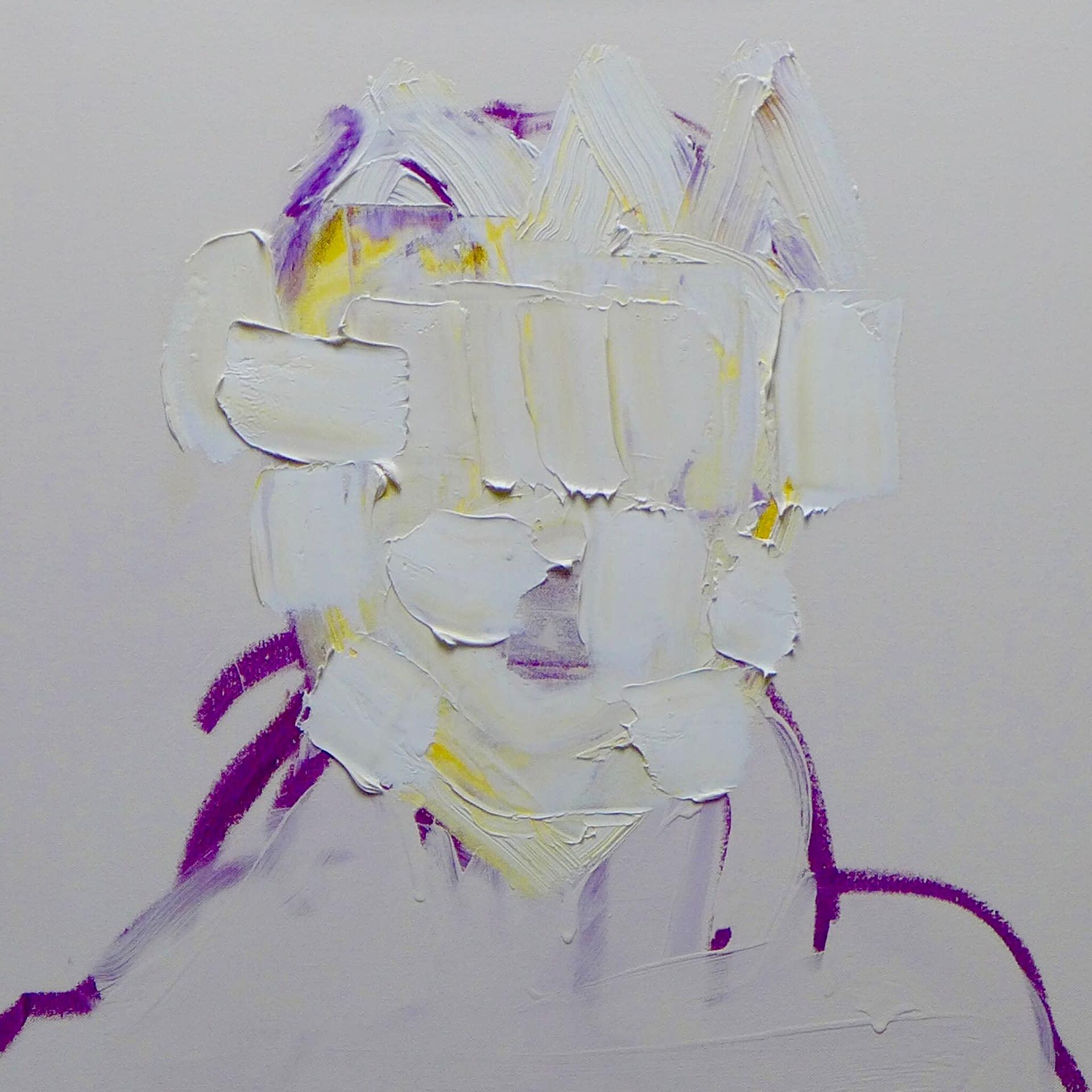 1. Rammellzee 24x24 oil on canvas
